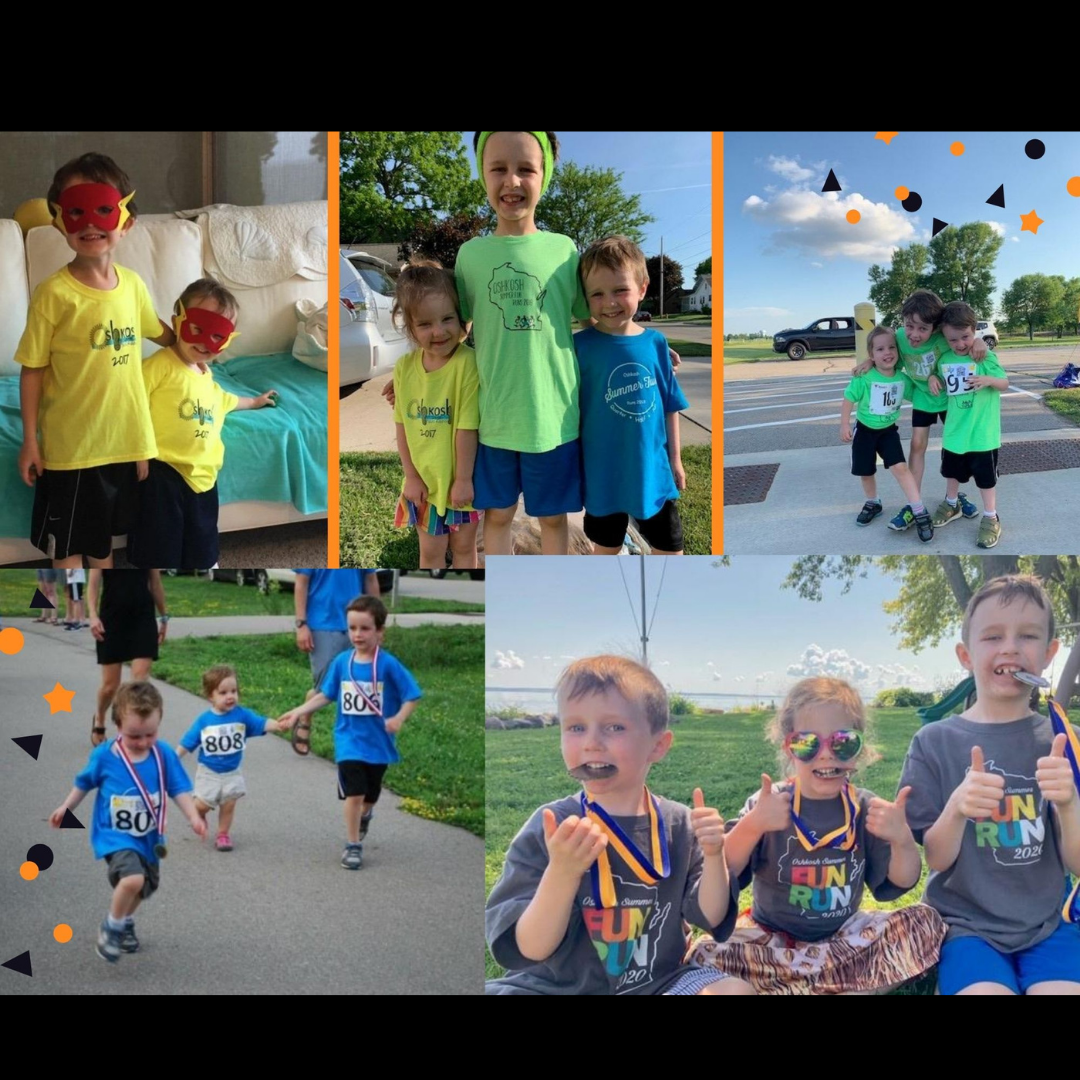 Robarge Family Running